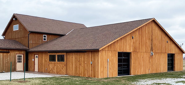 wedding reception barn addition