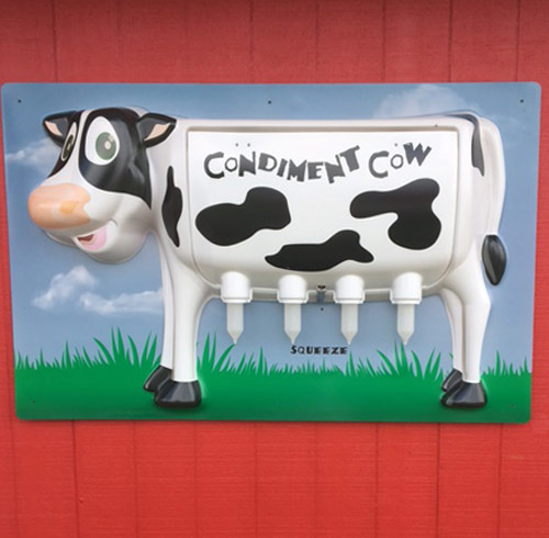 condiment cow